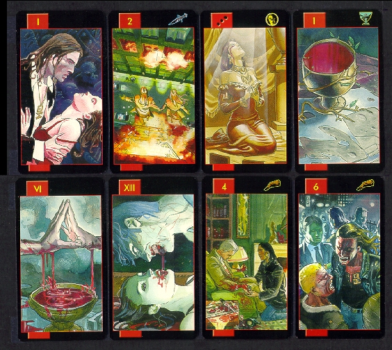 The Gothic Tarot Of Vampires